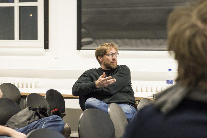 VR Diskussion an der Muthesius Kunsthochschule